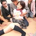 (美羽の淫乱パーティをお勧め!!!是非、参加しましょうね!)ザーメンで溢れる若い肉壷!! - ゆうき美羽の画像