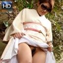 戸田美代子 乳のデカい顔出しNGの美人奥様が着物で露出デート