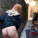 葉山なつき 通報覚悟の街中露出 ~下界を見下ろすピンコ乳首~