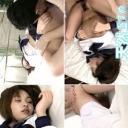 松嶋美織 美少女女子校生、乱れるブラウス