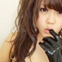 【個人撮影】メイド喫茶勤務 Cちゃん Fカップ エナメル手袋撫で回しオナ...