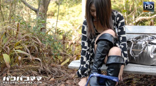 初めての野外露出とアナル体験/菊川麻里