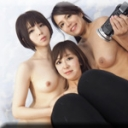 ありさ かな さとみ:自画撮り3Pレズビアン〜ありさちゃんとかなちゃんとさとみちゃん〜2【レズのしんぴ】