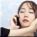 nyoshin:電話中のおまんこ弄り:りな