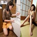 淫乱系巨乳妻の自宅で自慰と口淫!! 和美 38歳:和美