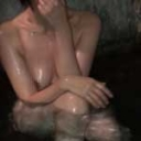 【立ち上げキャンペーン$38→$12】【本妻】人がいないうちに岩風呂で勝手に混浴中出し妻(さすがに現在妊娠してしまいました。)