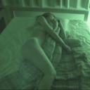 素人 女子寮 夜間侵入 赤外線映像 着替え オナニーシーン