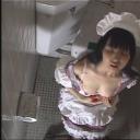 素人 メイド達 トイレでオナニー 隠し撮り