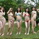 常夏ビーチで女達の淫戯!