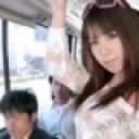 来栖千夏:痴漢路線バス 〜噂の潮吹き痴漢痴女〜【ヘイ動画:カリビアンコム】