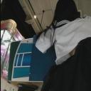 素人:女子校生エアホッケーパンチラ逆さ撮り 7【盗撮道】