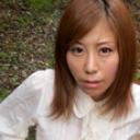 秋野千尋:可愛すぎる熟女の青空マンコの約束【カリビアンコム】