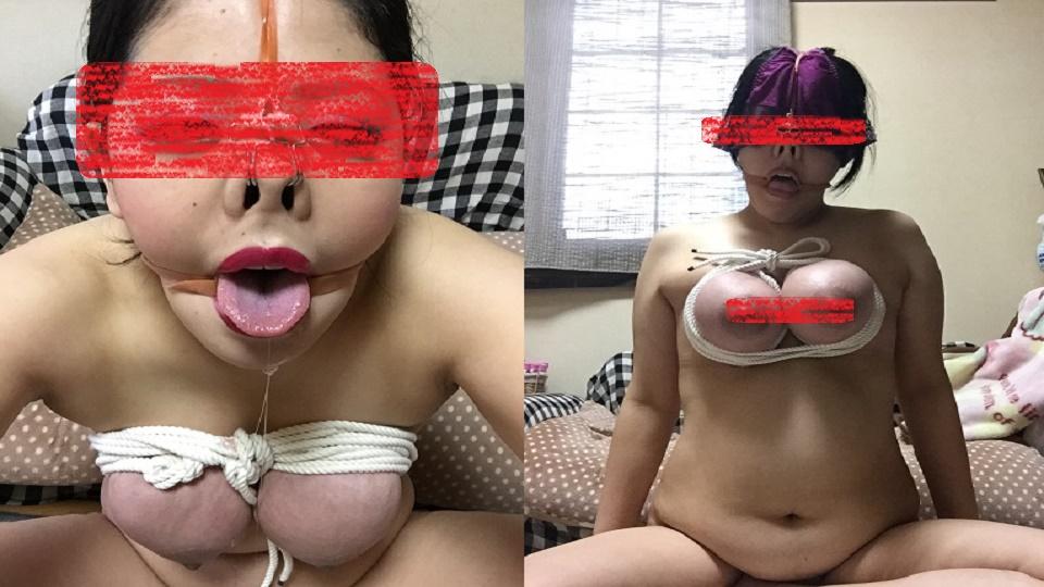 真実の淫乱変態マゾ姿 無修正 SM 巨乳 人妻 痴女 マニア オナニー