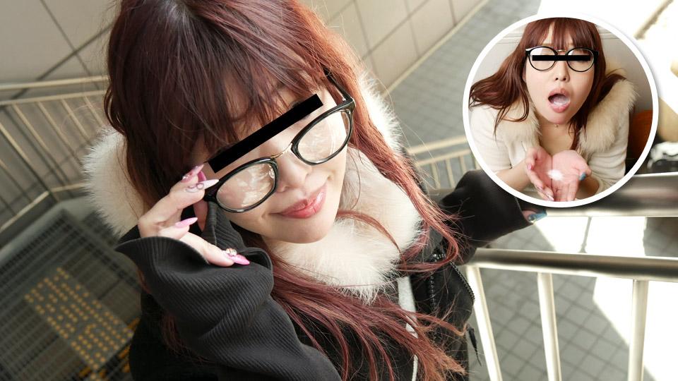 ごっくんする人妻たち100 〜メガネの似合う熟女はザーメンが大好物〜:菊田夏生
