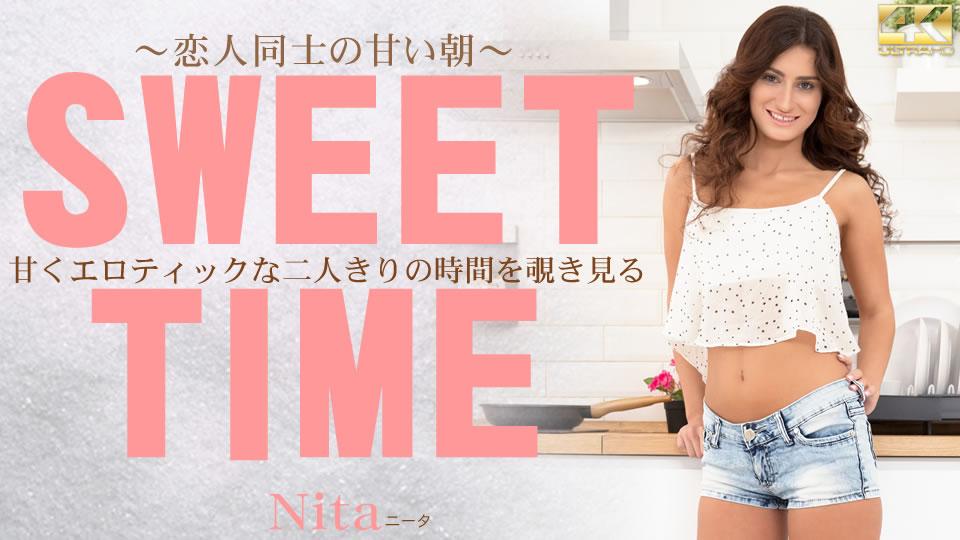 甘くエロティックな二人きりの時間を覗き見る  恋人同士の甘い朝 SWEET TIME Nita:金髪天國