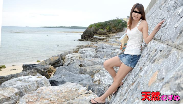 南国娘と地元でデート!私の海で泳いで サンプル画像